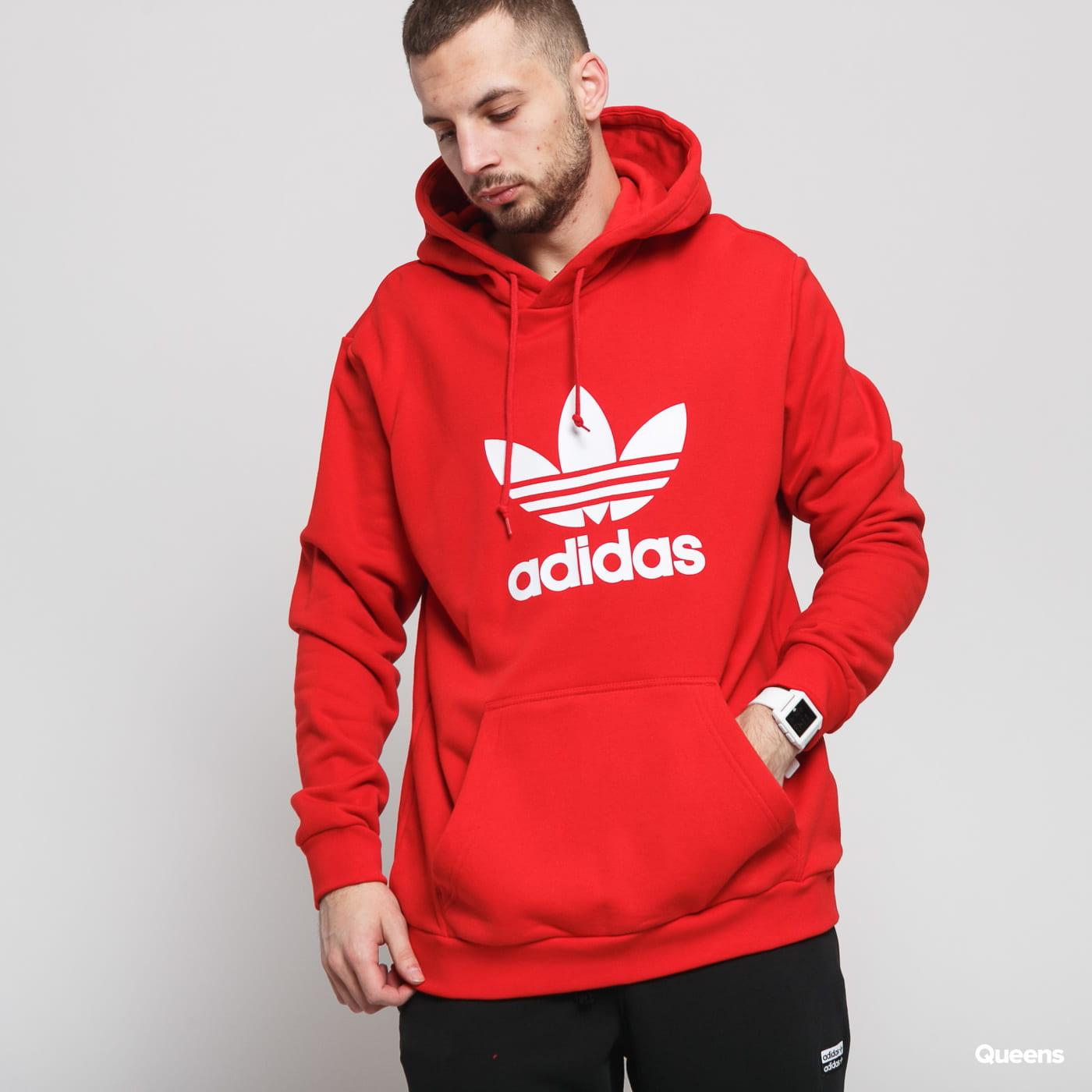 adidas v day trefoil hoodie