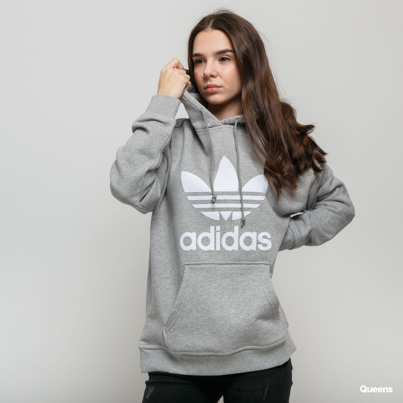adidas trefoil sweat-shirt