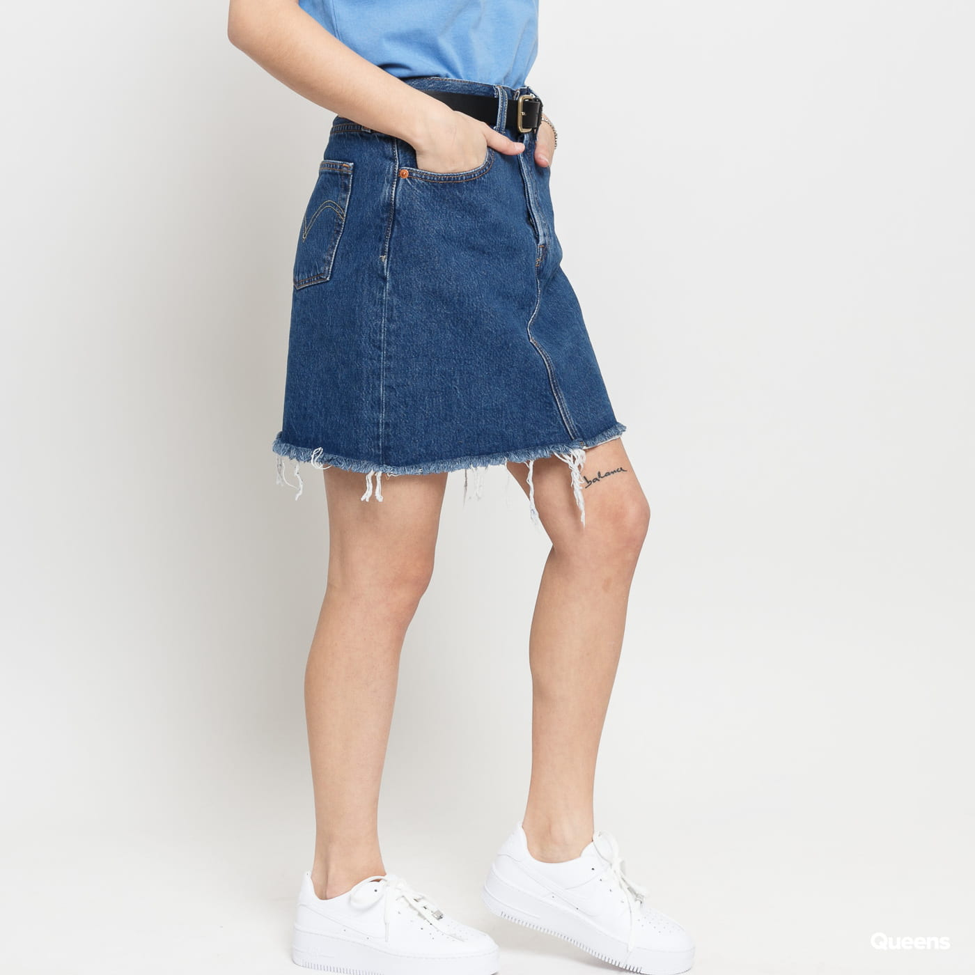 Levi's ® HR Decon Iconic BF Skirt blue