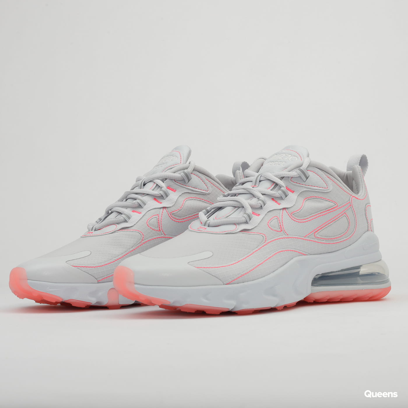 Nike Air Max 270 React SP white / white - flash crimson