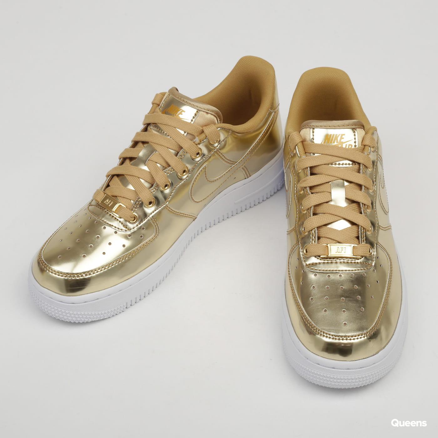 Nike W Air Force 1 SP metallic gold / club gold - white