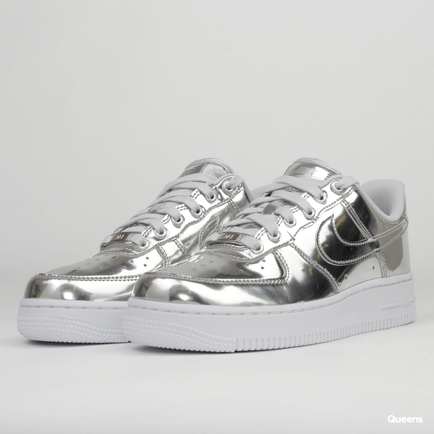 air force 1 silver