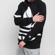 adidas Originals Big Trefoil Hood černá / bílá