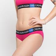 Calvin Klein Bikini - Slip 1981 tmavě růžové