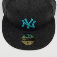 New Era 5950 MLB Black Base NY melange černá