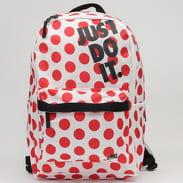 Nike NK Heritage Backpack bílý / červený