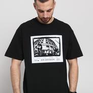 PLEASURES Joy Division Band T-shirt černé