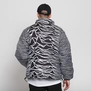 PLEASURES Joy Division Disorder Puffer Jacket černá / bílá