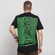 PLEASURES Joy Division Up T-shirt černé / zelené
