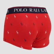 Polo Ralph Lauren Classic Print Stretch Cotton Trunk červené