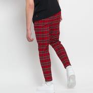 Urban Classics Tartan Pants červené / černé / bílé / žluté