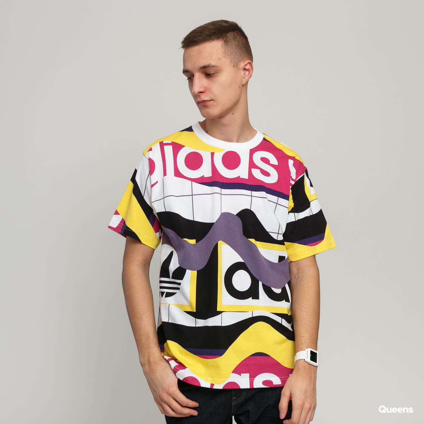 adidas multicolor t shirt