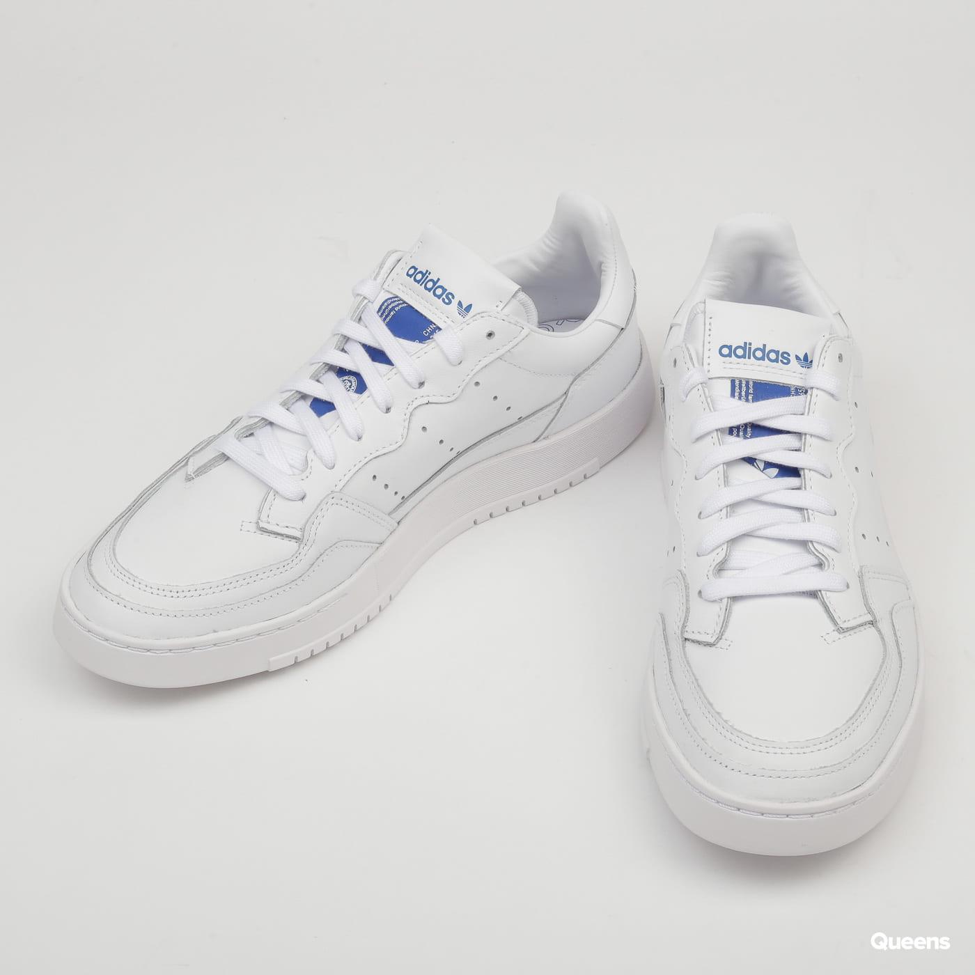 adidas Originals Supercourt ftwwht / ftwwht / blubir