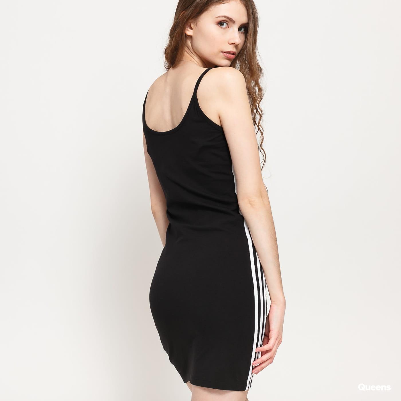 adidas Originals Tank Dress černé / bílé
