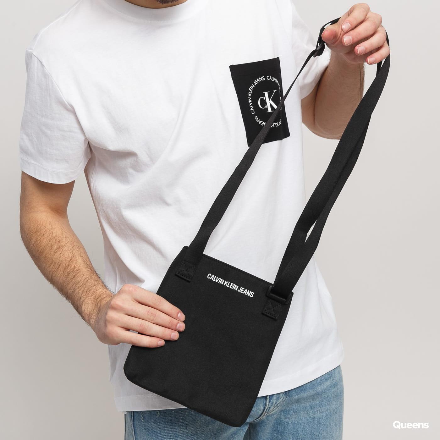 CALVIN KLEIN JEANS Sport Essentials čierna / žltá