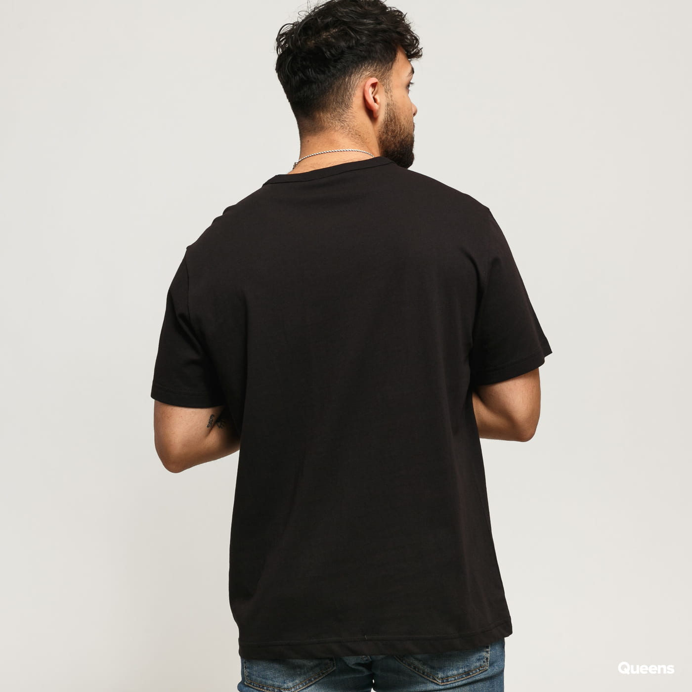 Champion Crewneck T-Shirt čierne