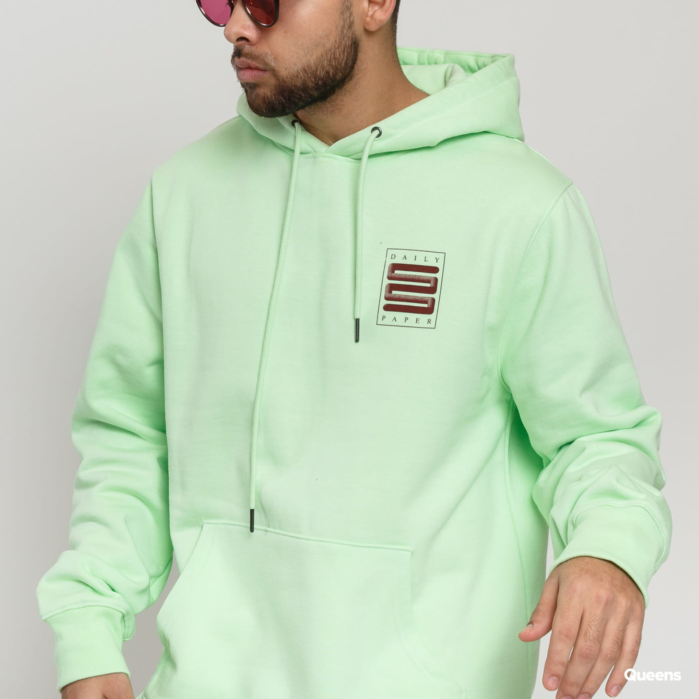 Daily Paper Hapat Hoodie light green