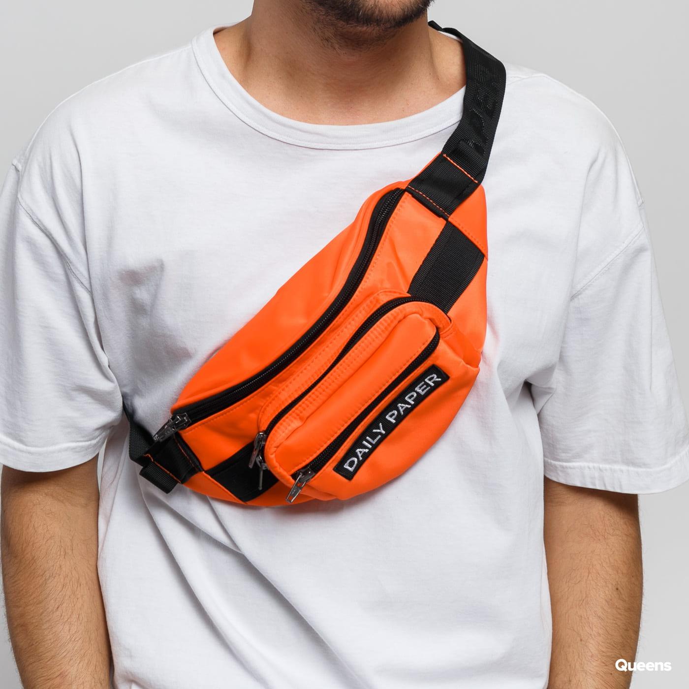 Daily Paper Waistbag orange / schwarz