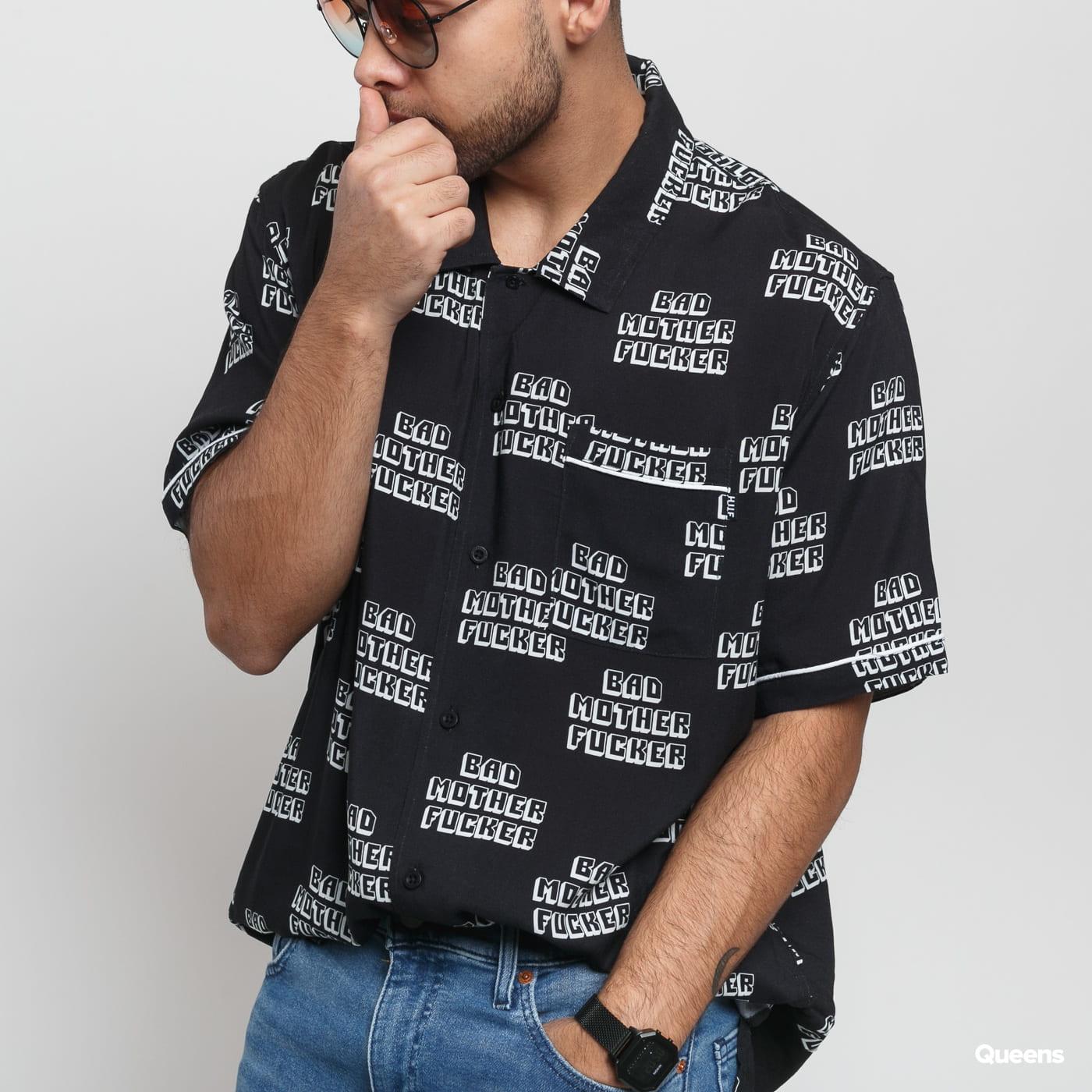 HUF Pulp Fiction Bad MF Hemd čierna / biela