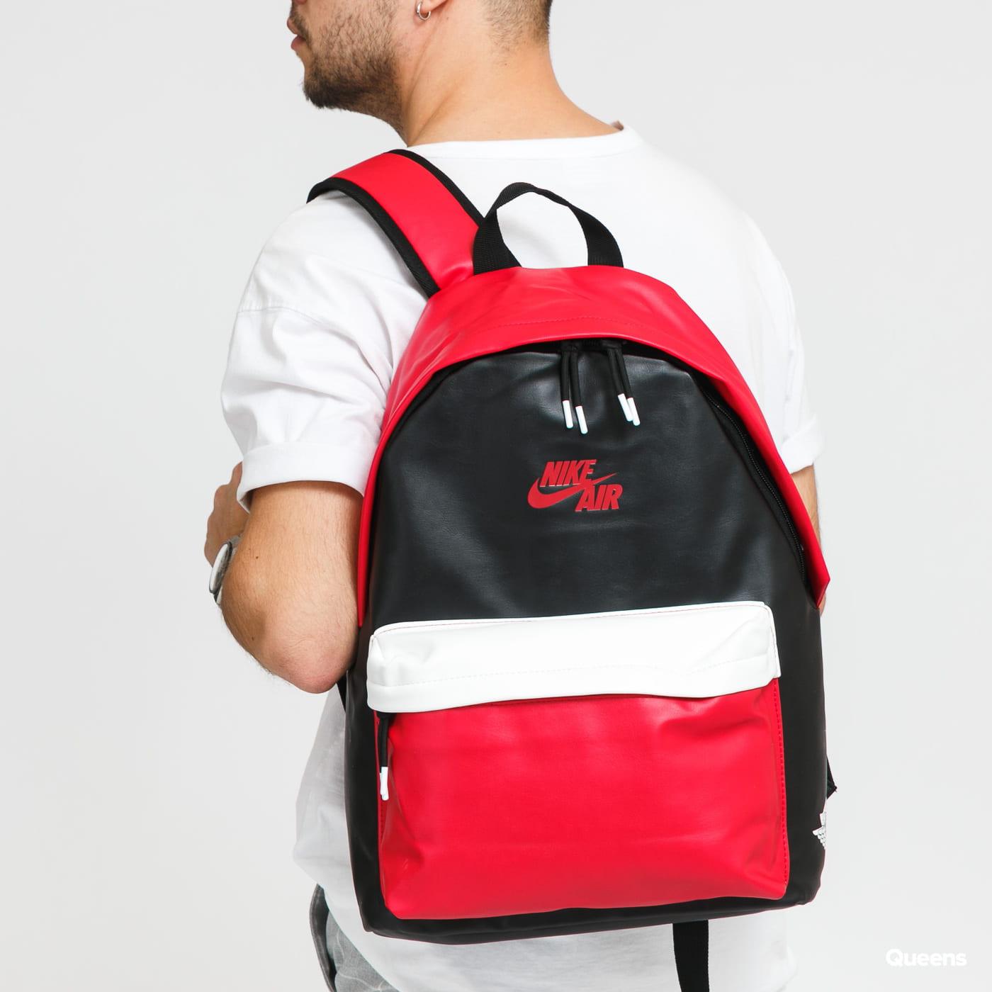 Jordan Air 1 Backpack červený / čierny / biely