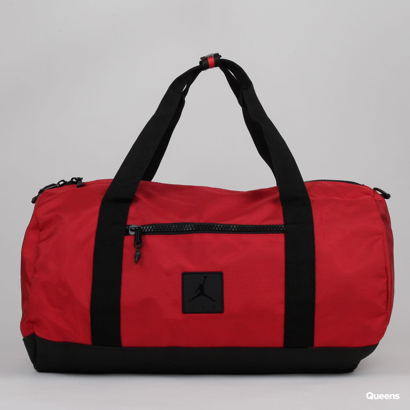 Jordan Air Duffel rot / schwarz