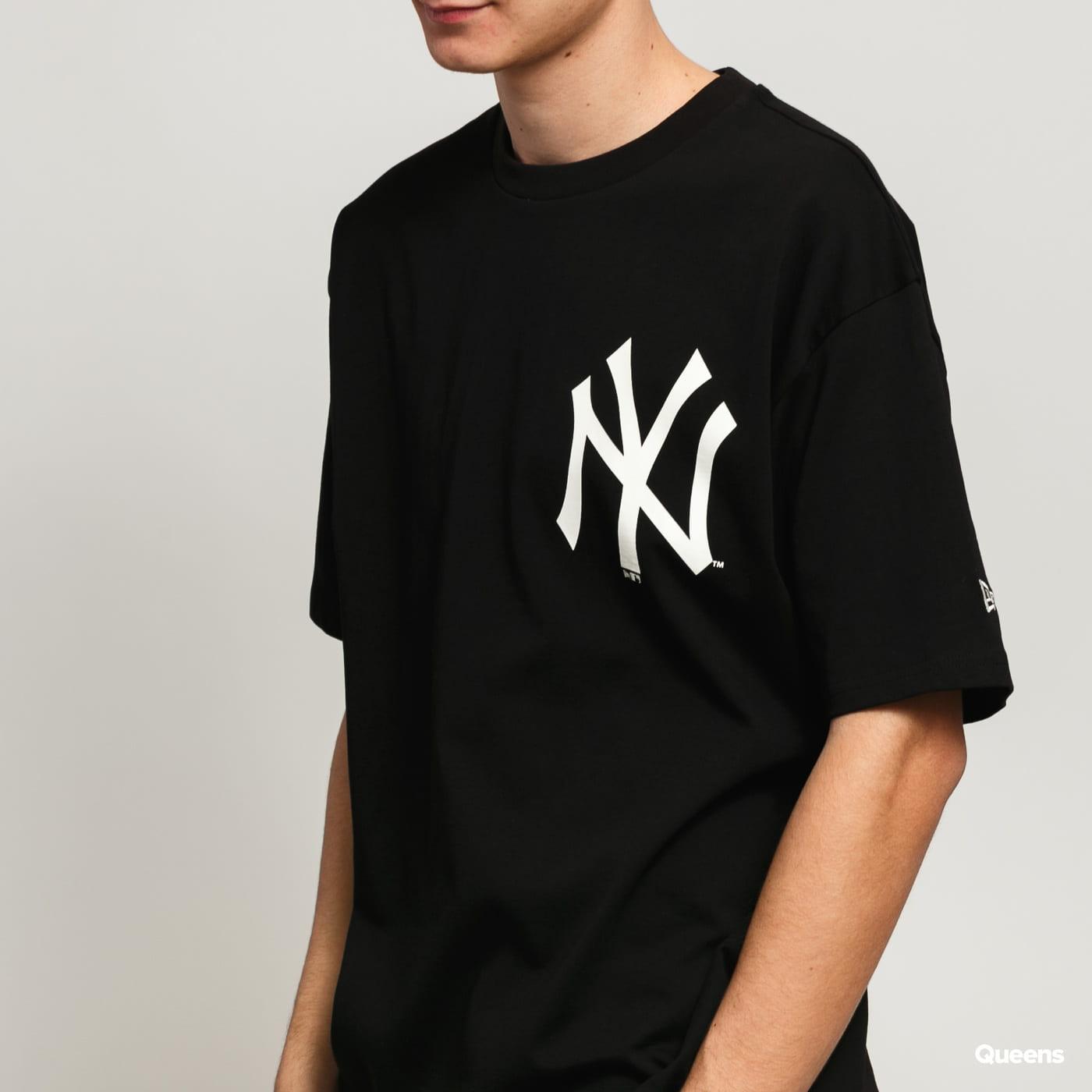 New Era MLB Nig Logo Oversized NY čierne