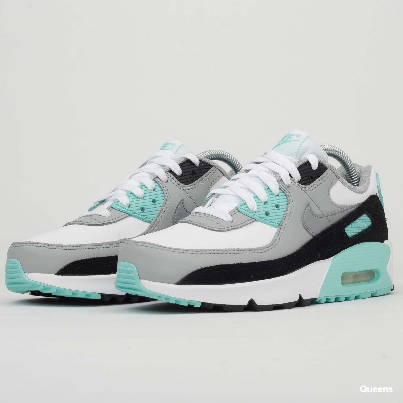 Nike Air Max 90 Leather (GS) white / particle grey