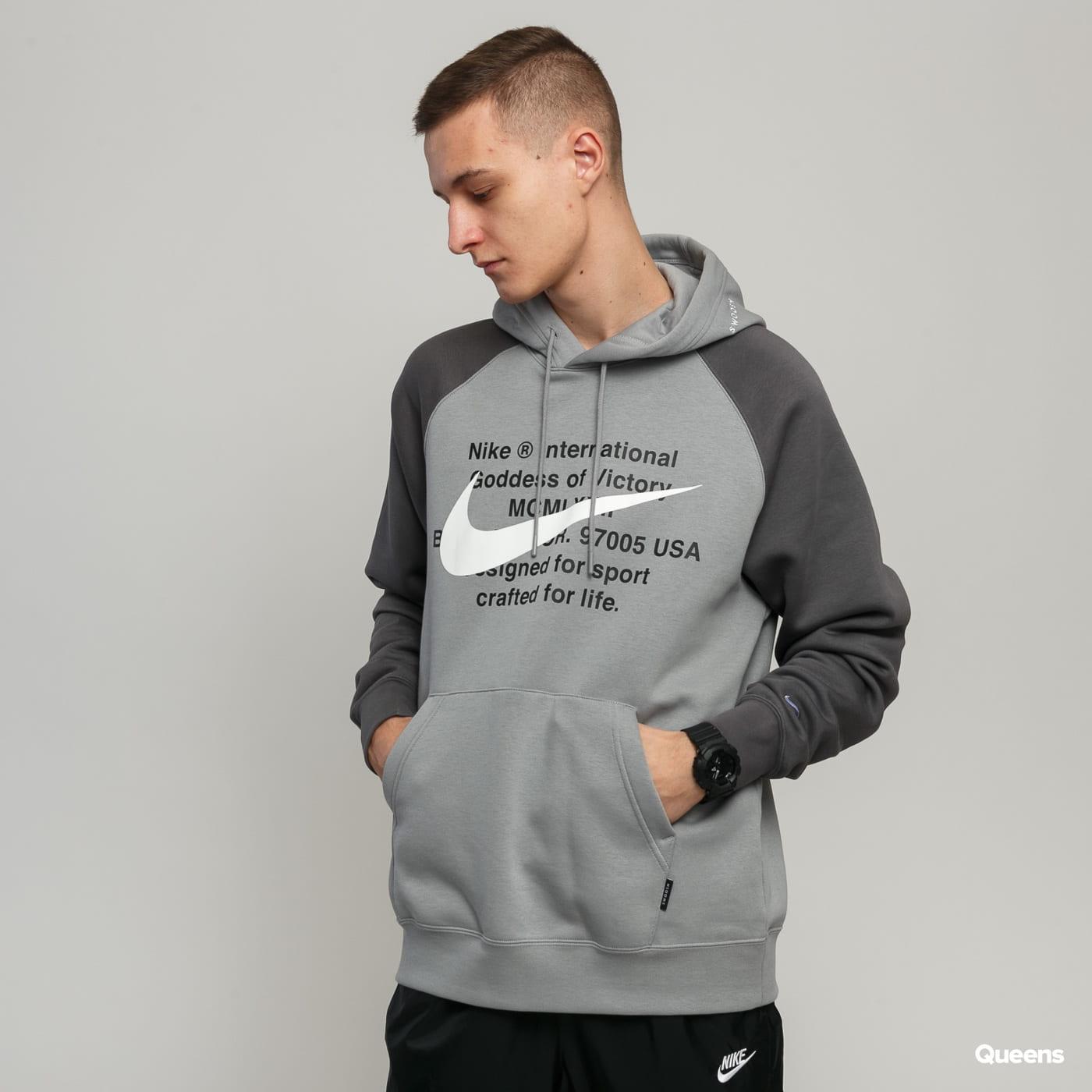 nike swoosh hoodie dress