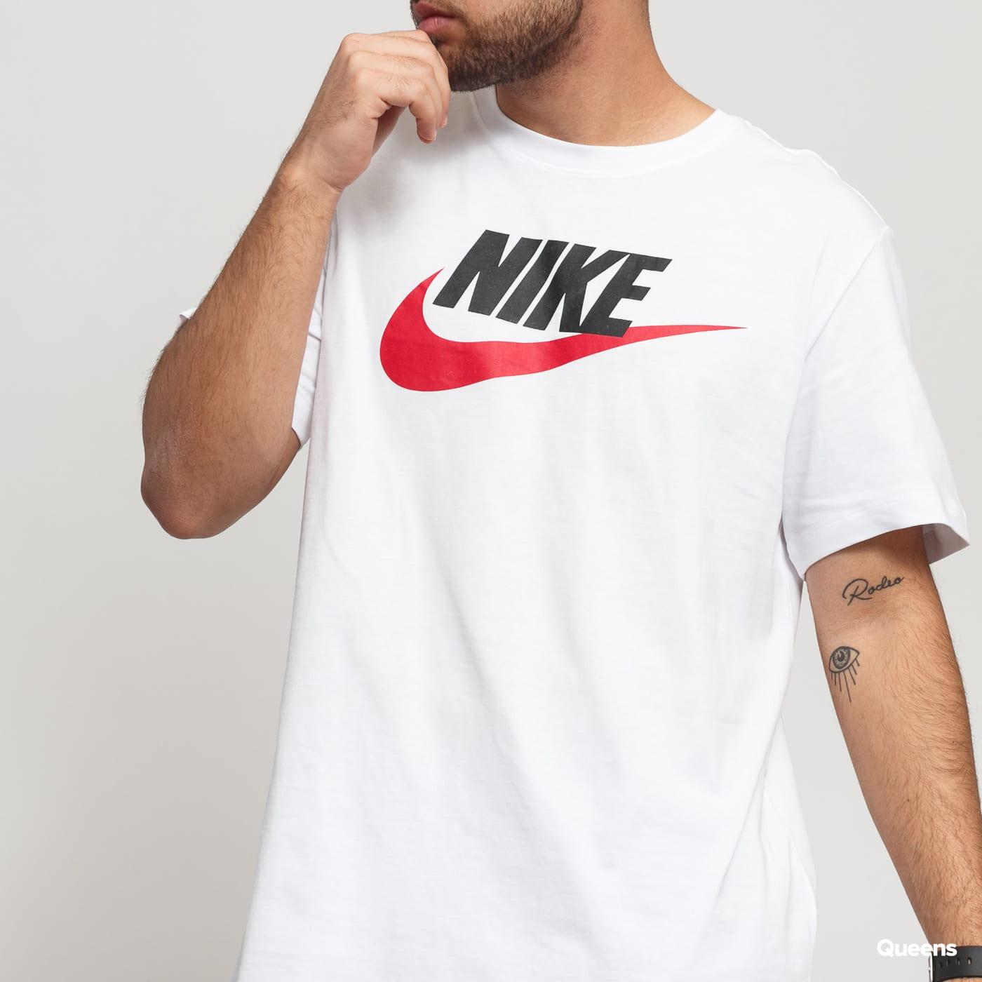 Nike M NSW Tee Icon Futura biele