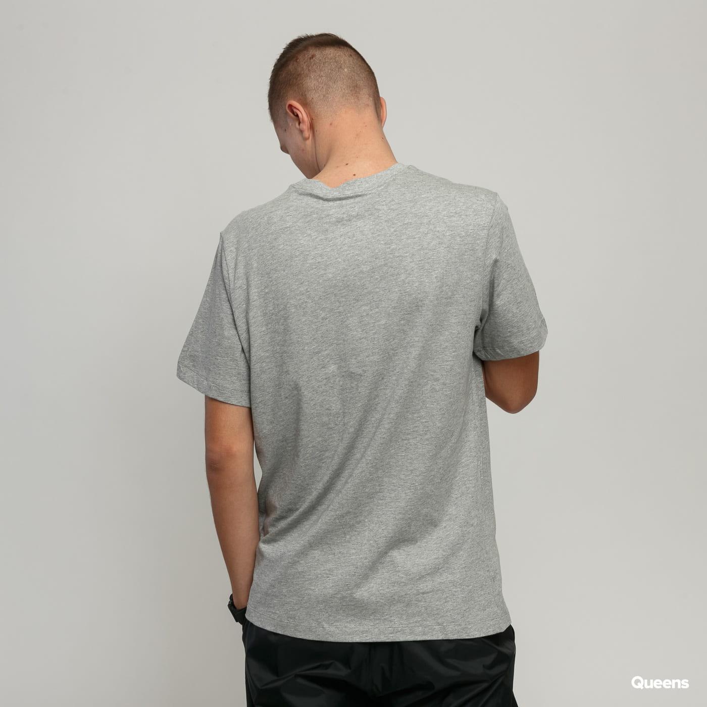 Nike M NSW Tee Just Do It Swoosh grau meliert