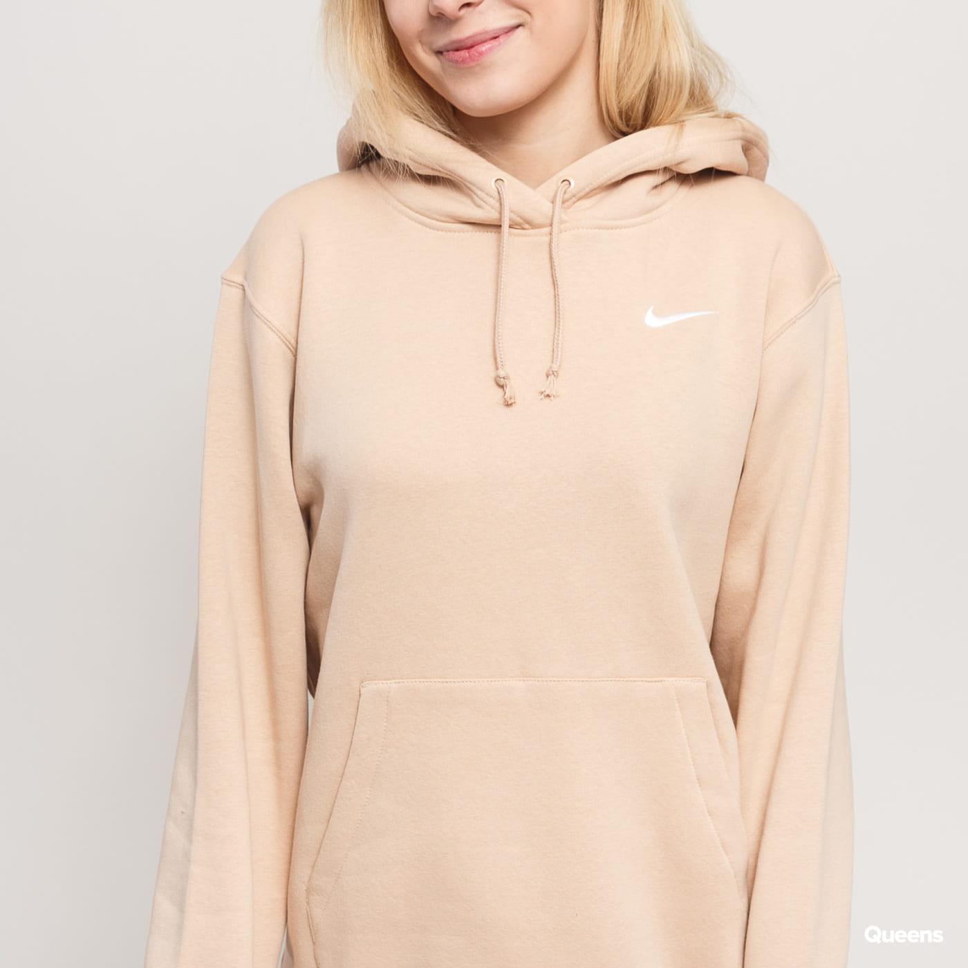 nike hoodie beige