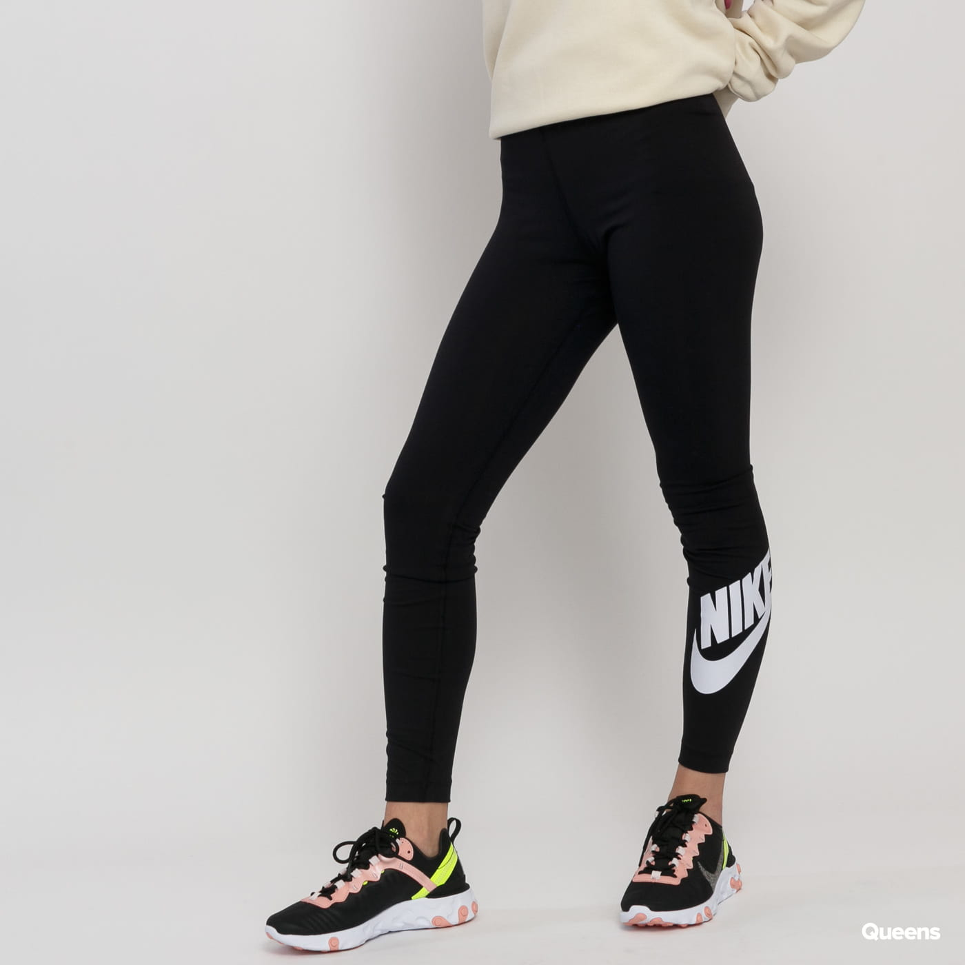 Nike W NSW Leg A See Legging HW Futura čierne