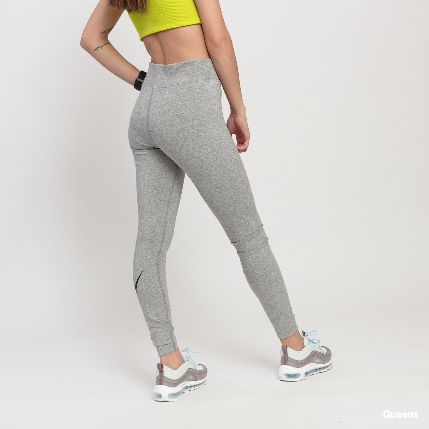 Nike W NSW Leg A See Legging HW Futura melange šedé
