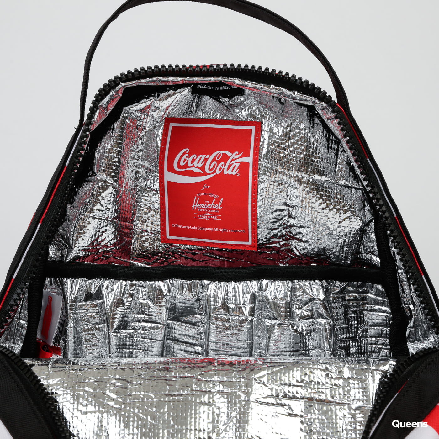 The Herschel Supply CO. Coca-Cola Nova Mid Backpack biely / červený
