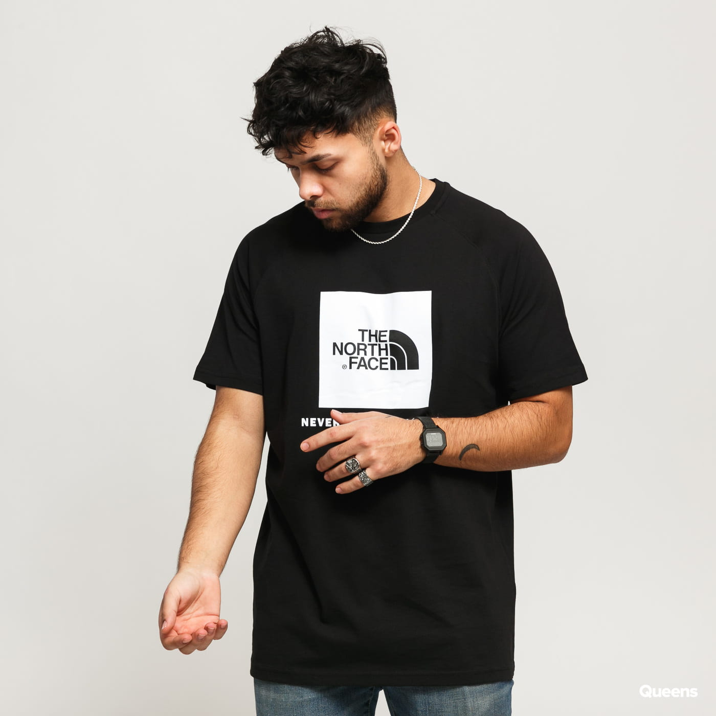 The North Face Youth Box Short Sleeve Tee Cotton T-Shirt
