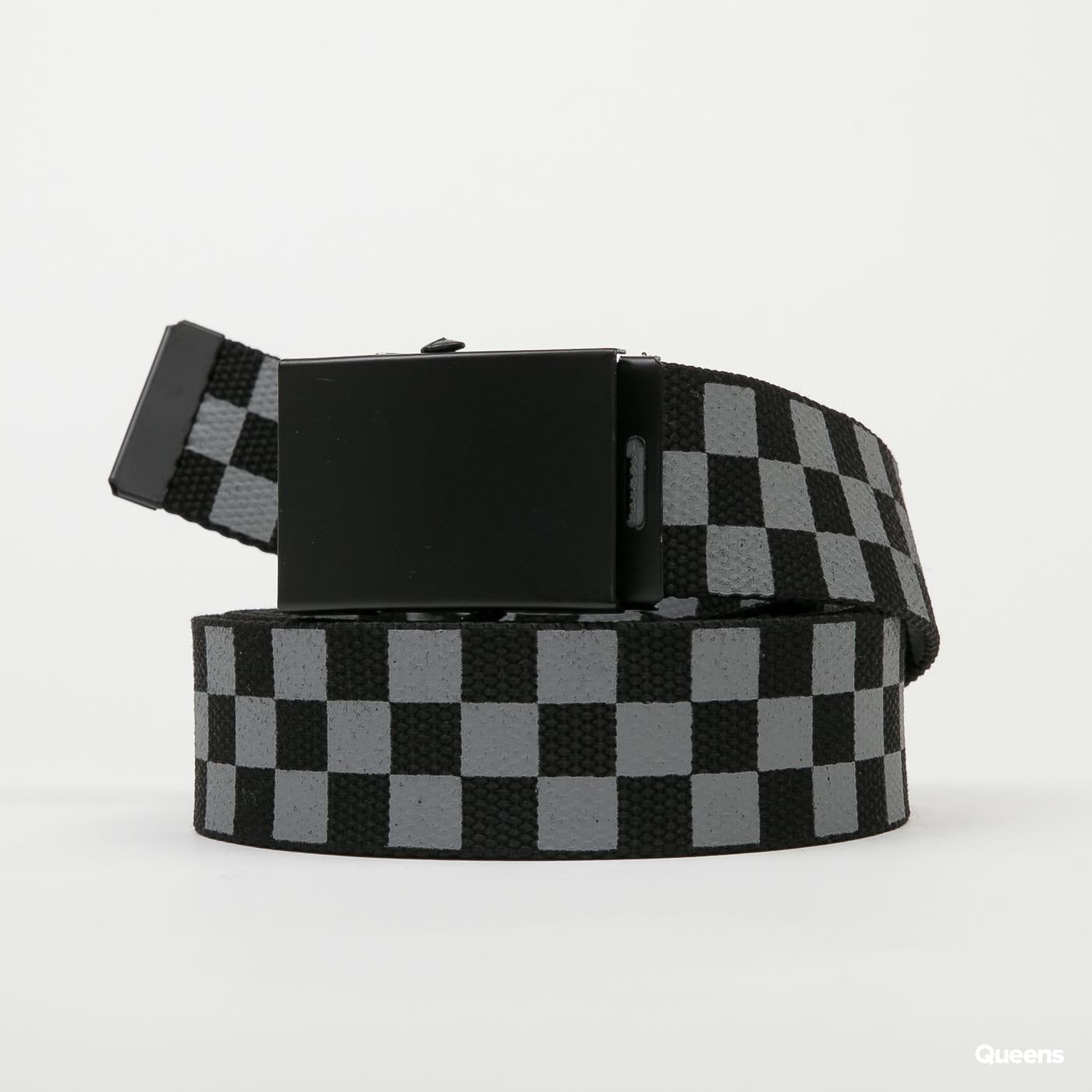 Urban Classics Belts Trio čierny / tmavošedý / šedý