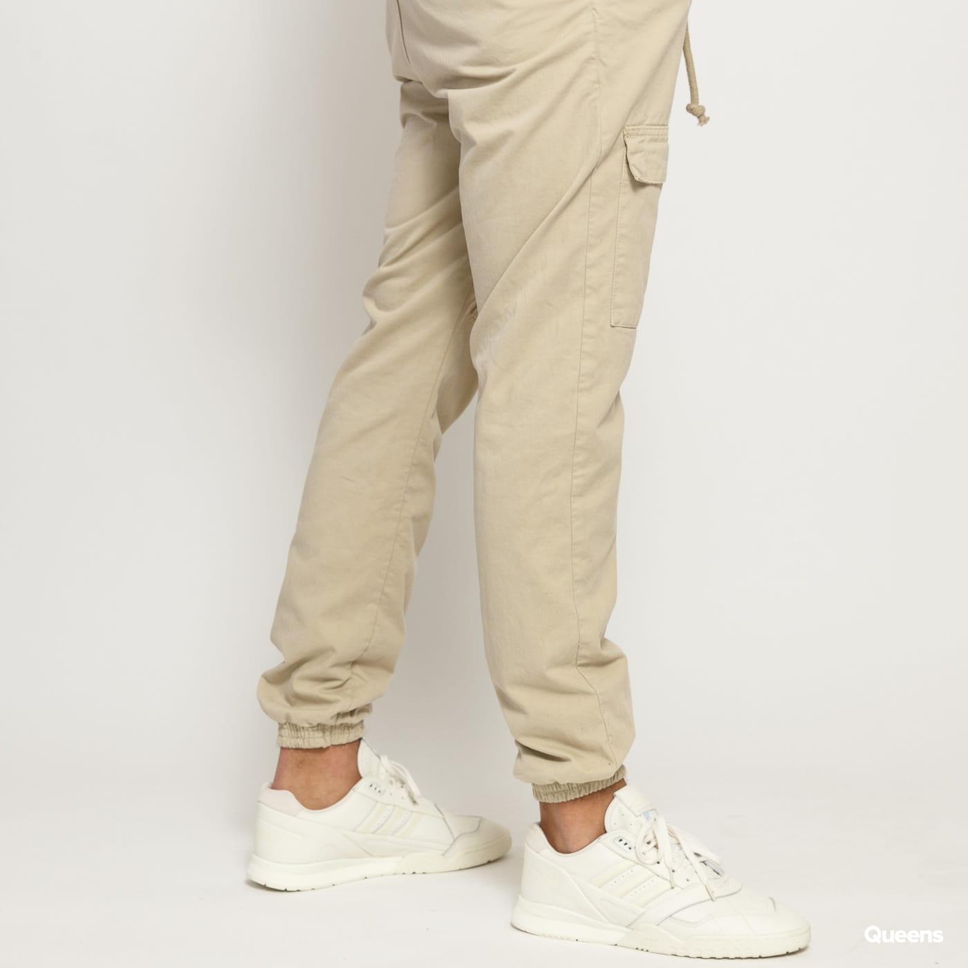 Urban Classics Front Pocket Cargo Jogging Pants béžové