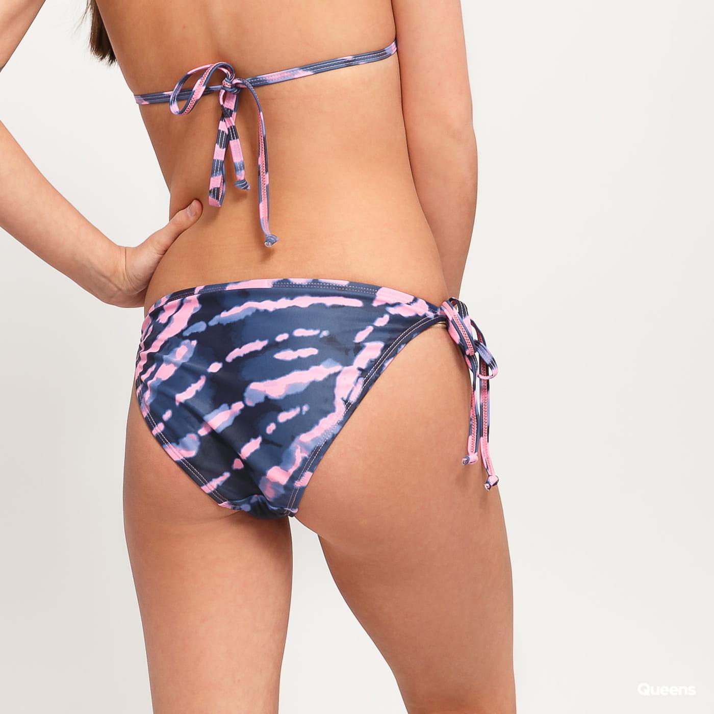 Urban Classics Ladies Tie Dye Bikini navy / rosa