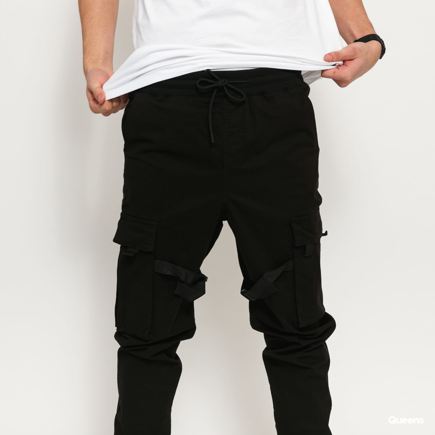 Urban Classics Tactical Trouser černé