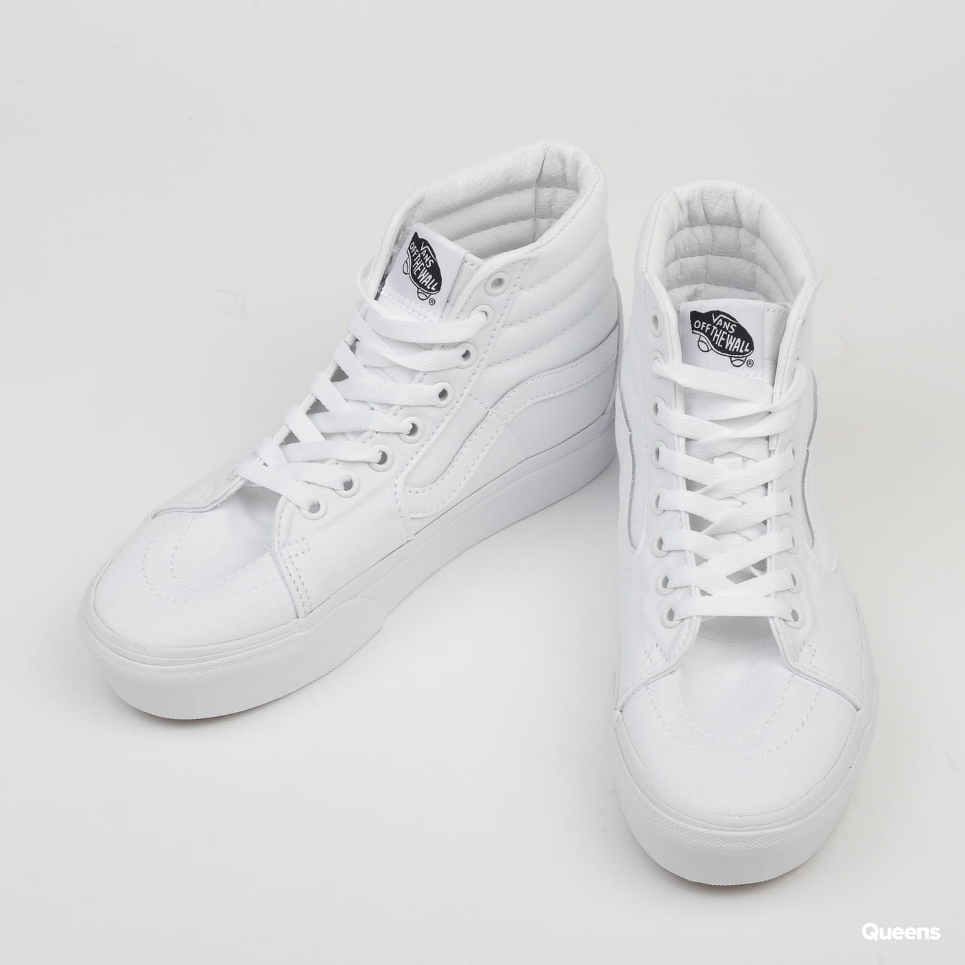 Vans SK8-HI Platform 2 true white / true white