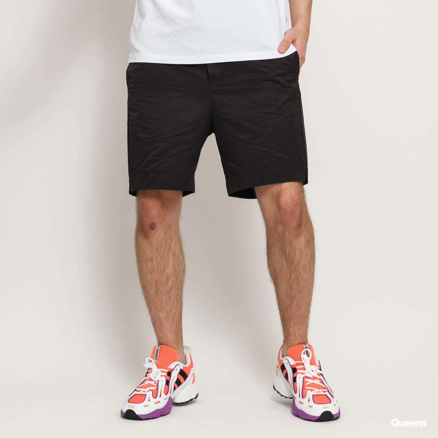 WOOD WOOD Baltazar Shorts čierne