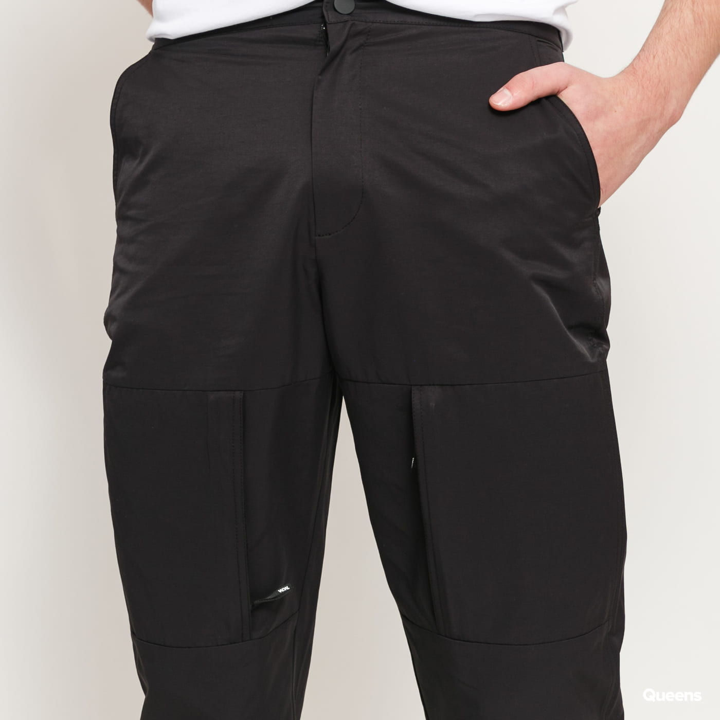 WOOD WOOD Hamish Trousers čierne