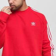 adidas Originals 3-Stripes Crew červená