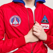 Alpha Industries MA-1 TT Hood NASA červená