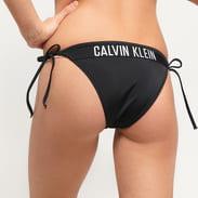Calvin Klein Cheeky String Side Tie čierne