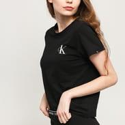 Calvin Klein CK ONE SS Crew Neck C/O black satin