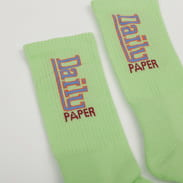 Daily Paper Hace Sock světle zelené