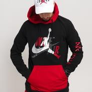 Jordan M J Jumpman Classics Lightweight Fleece PO černá / červená