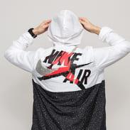 Jordan M J Jumpman Classics Windwear Jacket bílá / černá