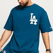 New Era MLB Big Logo Oversized LA tmavě tyrkysové